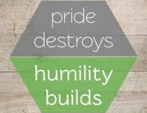 The quantity of humility amid the insolence of pride by Pastor Rudolph Boshoff