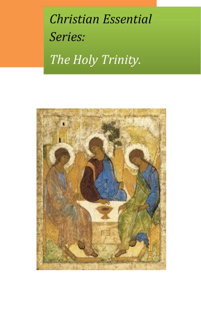 thumbnail of Christian-Essential-The-Holy-Trinity