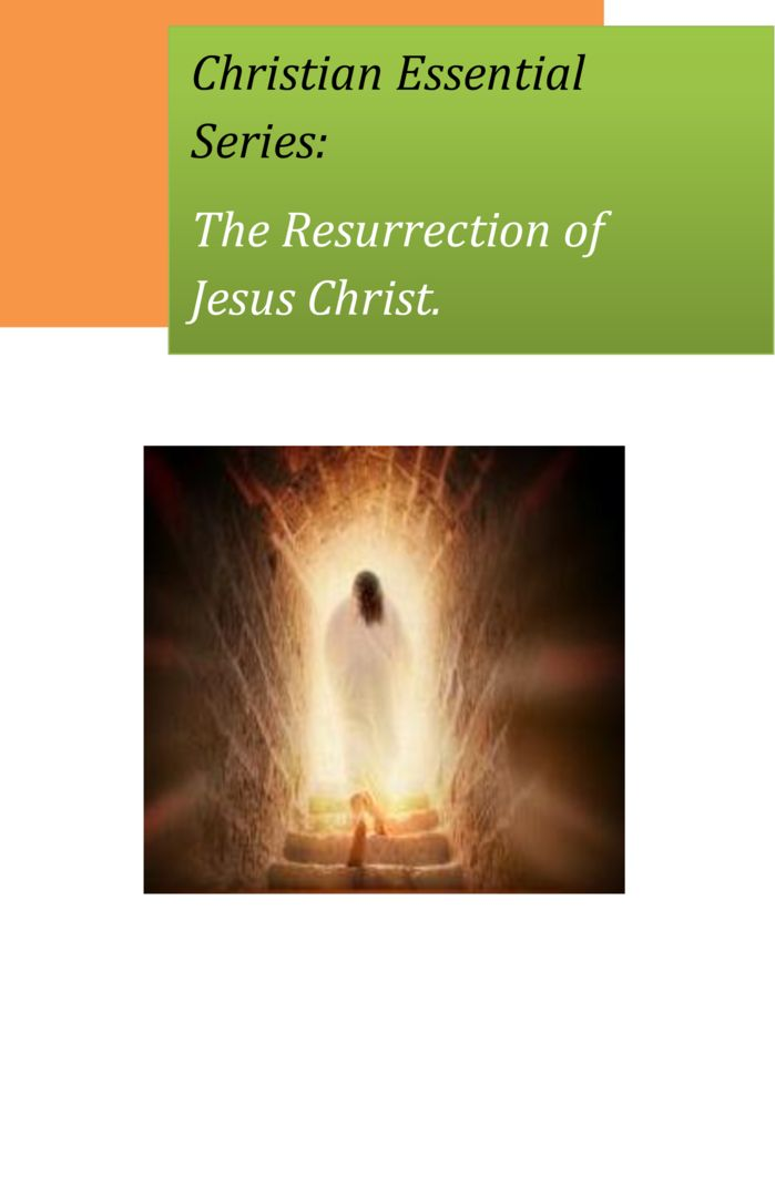 thumbnail of Christian-Essentials-The-Resurrection-of-Jesus-Christ.